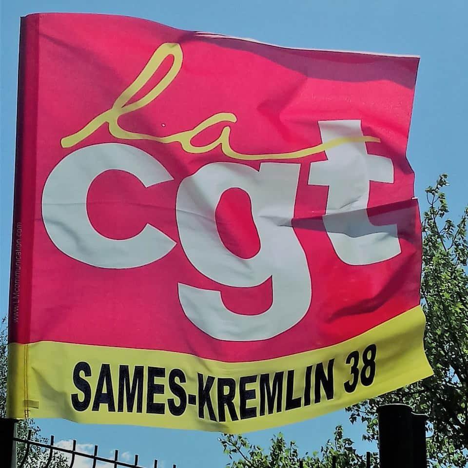 la CGT redoute les négociations pour les prochains accords d'entreprise. © CGT Sames-Kremlin