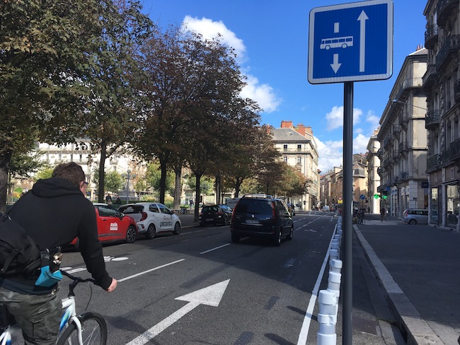 Quel impact a le nouveau plan de circulation sur le flux de véhicules en ville ? © Patricia Cerinsek