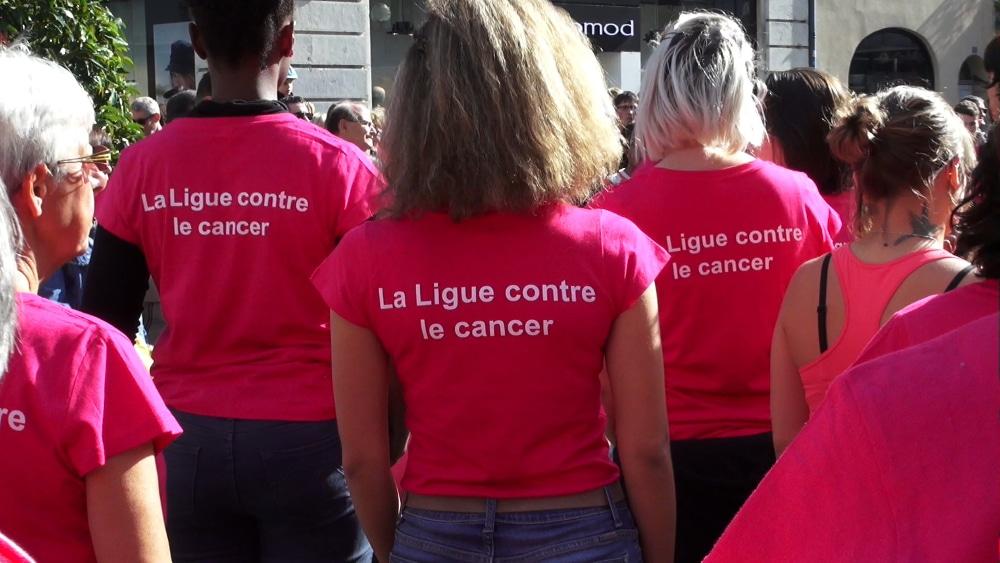 Visuel Ligue contre le cancer. © Ligue contre le cancer