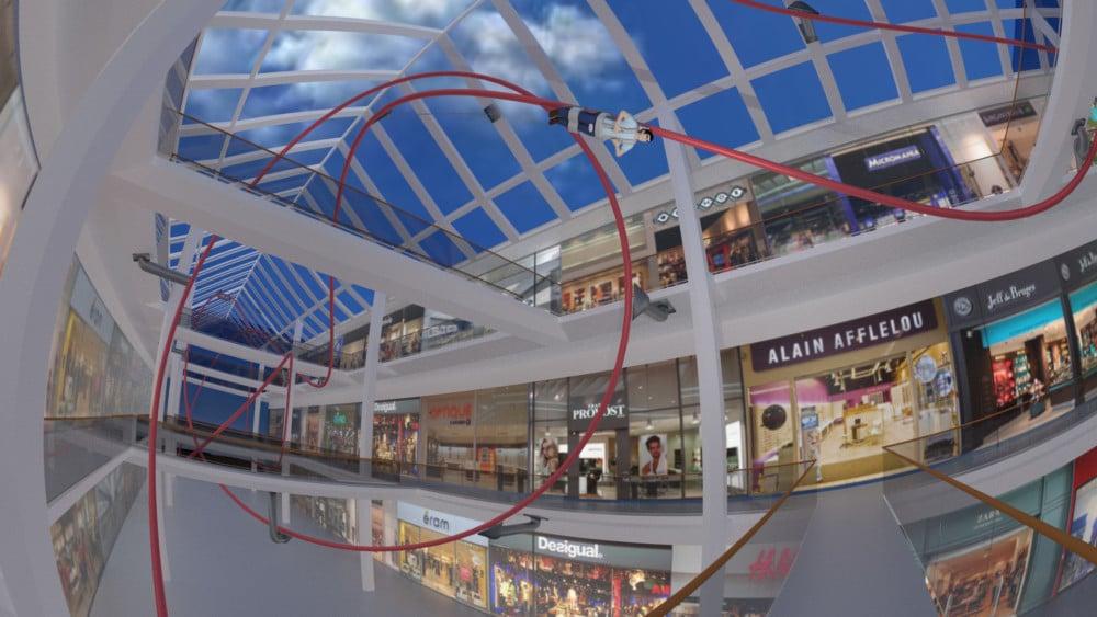 Demain, un grand huit dans votre centre commercial ? Creosens y croit. © Creosens