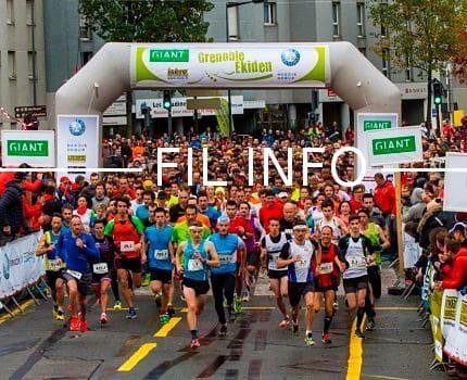 Ekiden plus de 4 400 participants attendus dimanche - Dimanche a grenoble ...