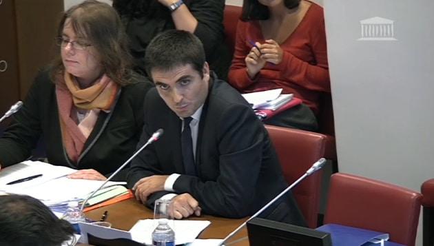 Jean-Charles Colas-Roy © Capture d'écran Assemblée nationale