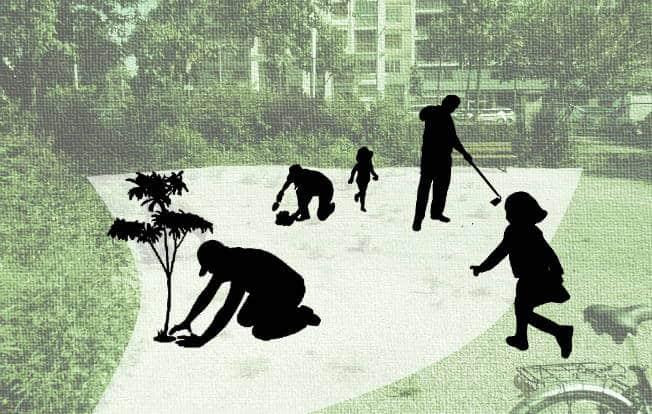 Adopter des jardins ? C'est ce que propose la Ville de Grenoble, avec une soixantaine d'espaces cultivables recensés par son service Espaces verts.Visuel Jardins à adopter © Ville de Grenoble
