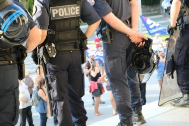 Police nationale à Grenoble ©