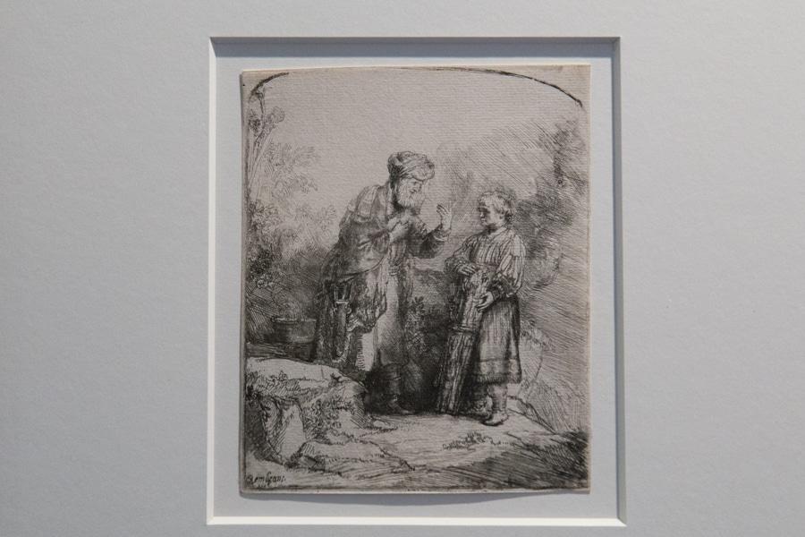 L'exposition de 68 gravures de Rembrandt a ouvert ses portes au couvent Saint-Cécile à Grenoble. © Yuliya Ruzhechka - Place Gre'net.