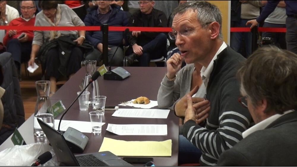 Philippe Cardin, du groupe d'opposition AIMEylan. © Joël Kermabon - Place Gre'net