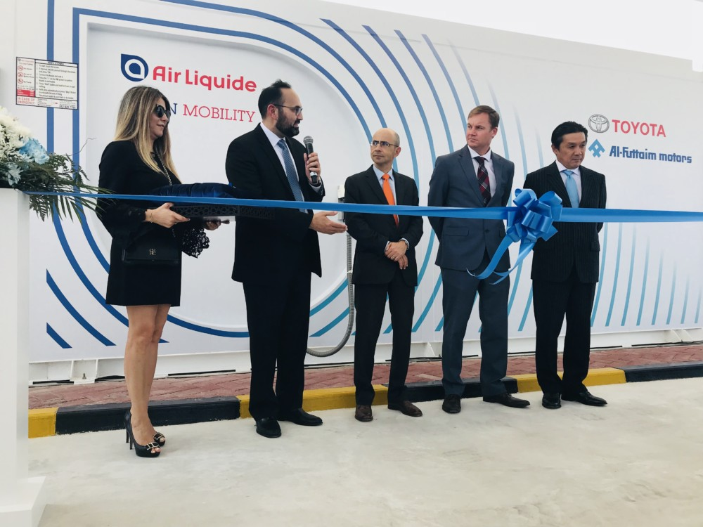 Inauguration de la Station hydrogène de Dubaï © Air Liquide