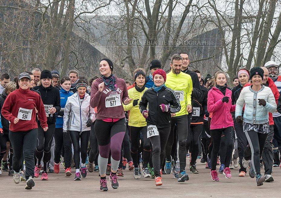 Pas de course collective pour l'édition 2020 du Téléthon, mais un moment sportif et solidaire n'en est pas moins organisé pour soutenir la recherche. © Antoine Buche