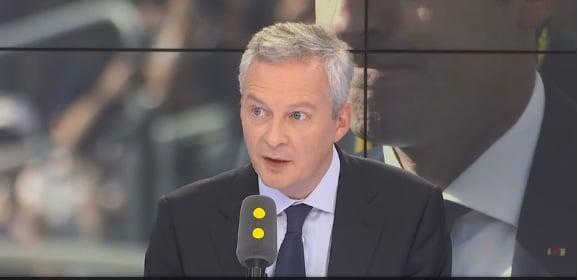 Bruno Le Maire, ministre de l'Économie et des Finances. DR