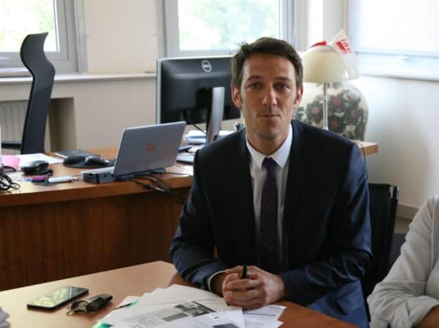 Joris Benelle, Directeur général des services de l'Université Grenoble Alpes © Florent Mathieu - Place Gre'net