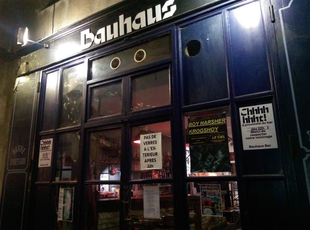 Bar Le Bauhaus, rue Chenoise © Florent Mathieu - Place Gre'net