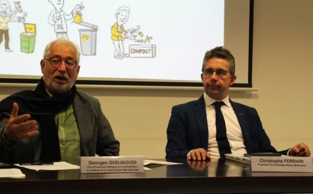 La Métropole présentait son plan d'action qui vise à réduire de moitié la production de déchets sur l'agglomération grenobloise à l'horizon 2030.