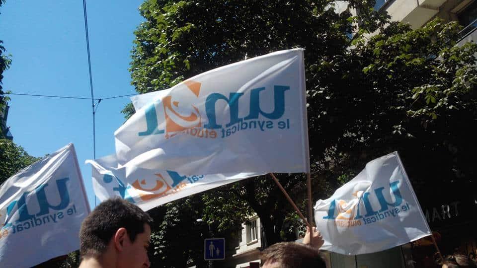 L'Unef compte parmi les organisateurs du rassemblement contre les lois Sécurité globale et LPR © Unef Grenoble
