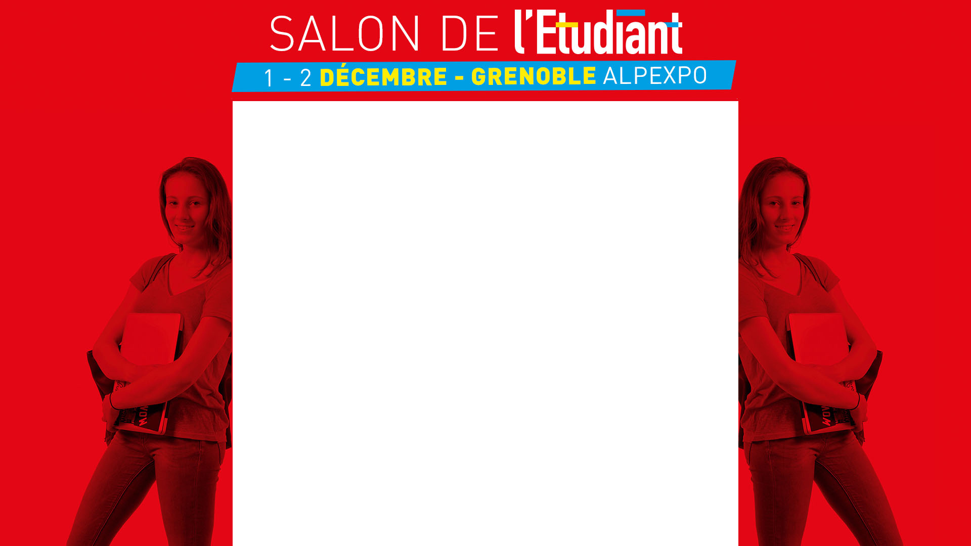 Salon de l'Étudiant les 1er et 2 décembre 2017 à Alpexpo Grenoble.
