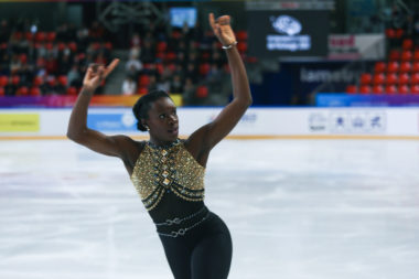 Internationaux de France de patinage 2017. Mae Berenice Meite. © Yuliya Ruzhechka - Place Gre'net