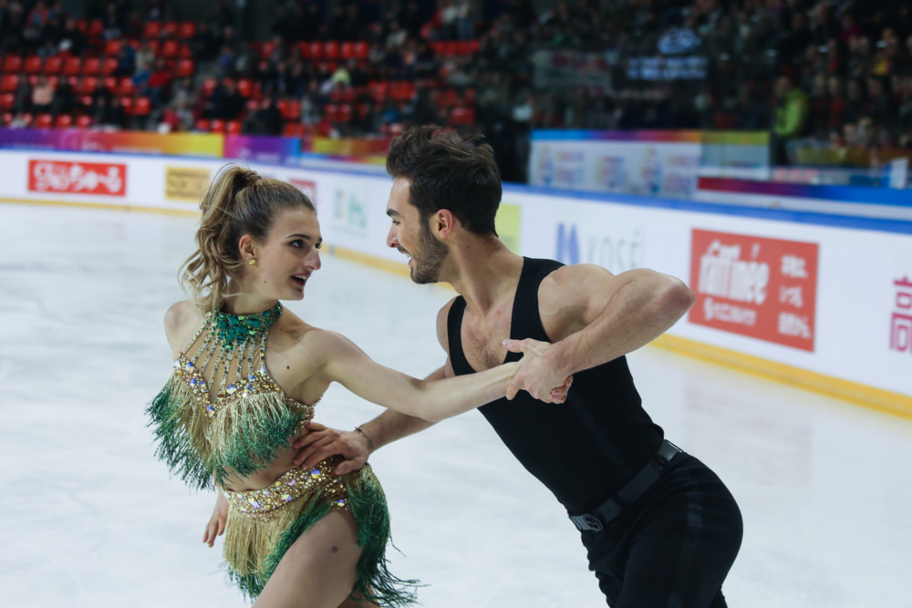 Internationaux de France de patinage 2017. Gabriella Papadakis et Guillaume Cizeron. © Yuliya Ruzhechka - Place Gre'net