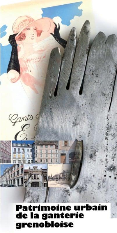 Patrimoine urbain de la ganterie grenobloise.