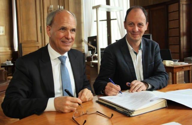 En novembre 2017, la Banque de France et le CCAS de Grenoble ont signé une convention de partenariat pour lutter contre le surendettement © Anaïs Mariotti – Place Gre'net