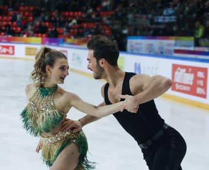 Les danseurs sur glace Gabriella Papadakis et Guillaume Cizeron ont remporté les Internationaux de France de patinage à Grenoble. ©Yuliya Ruzhechka - Place Gre'net