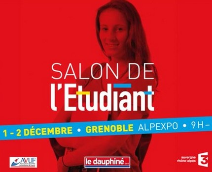 agenda salon de l 39 tudiant 2017 de grenoble place gre 39 net