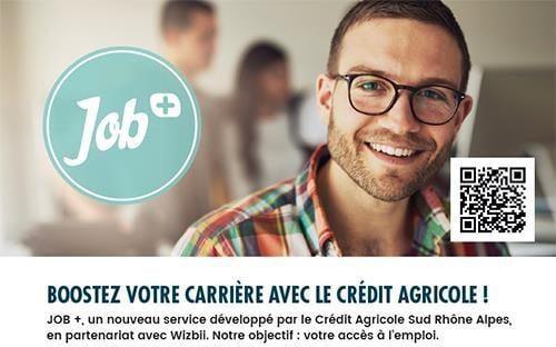 Visuel Job+ © Crédit Agricole
