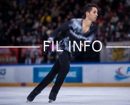 Le patineur grenoblois Chafik Besseghier a pris la 11e place des championnats d'Europe 2018 à Moscou. © DR