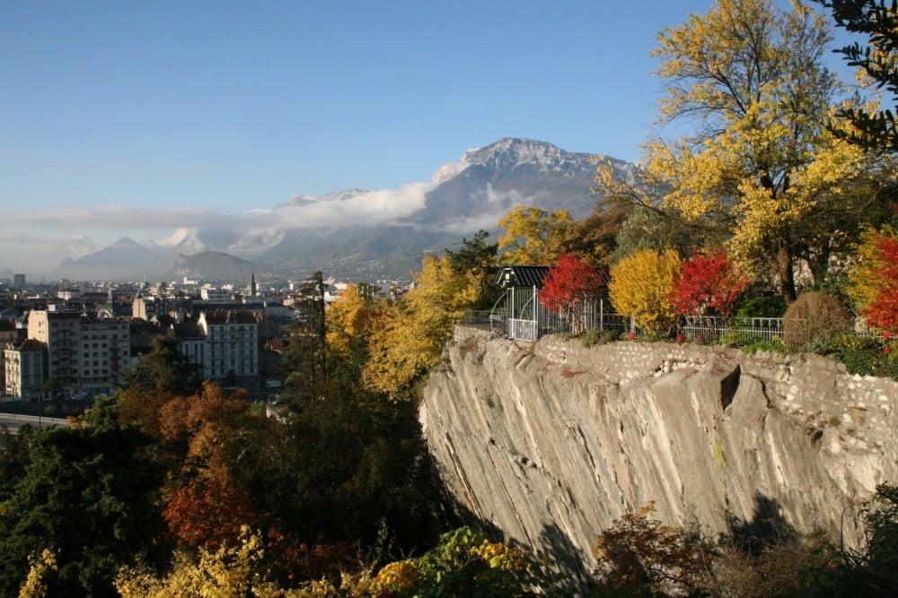 Végétation jardin des Dauphins de Grenoble © Florent Mathieu - Place Gre'net