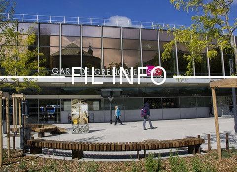 La Métropole de Grenoble a reçu du magazine Ville, Rail et Transports le prix Intermodalité 2017 suite à la mise en service du Pôle d'échange multimodal.