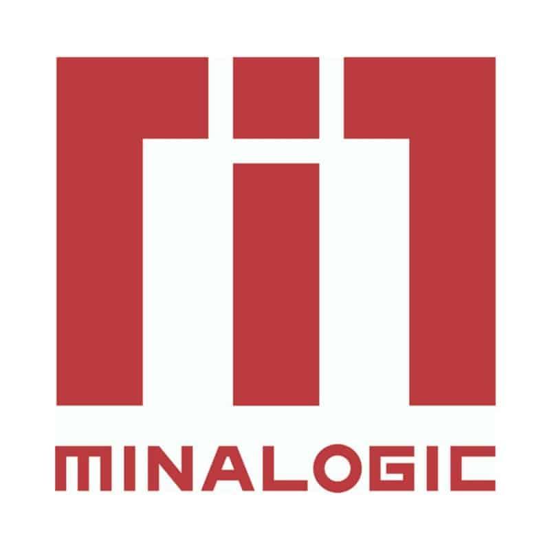 Logo Minalogic. DR