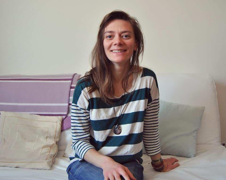Le projet d'un café couture sur Grenoble baptisé le Thé à coudre rencontre un succès fulgurant pour sa campagne de financement participatif.Audrey, à l'origine du projet du Thé à coudre © Thé à coudre