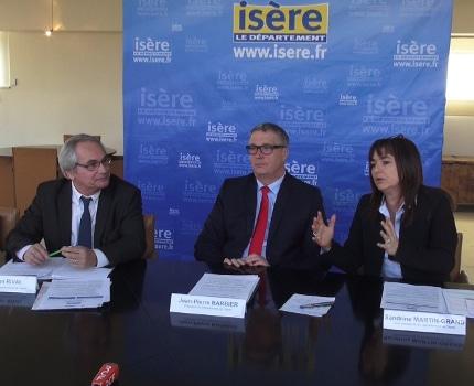 Le Conseil départemental de l'Isère va voter, ces 14 et 15 décembre, un budget de 1,5 milliard d'euros dans la continuité du plan de relance engagé en 2015