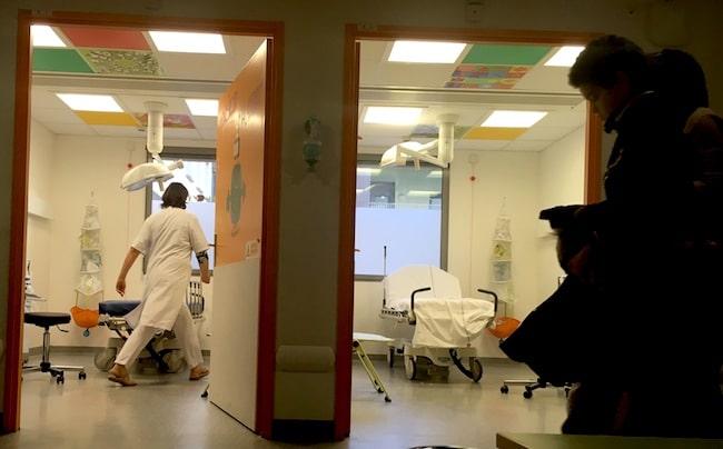 Urgences pédiatriques du CHU à Grenoble © Patricia Cerinsek - Place Gre'net