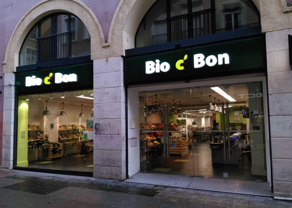 Magasin Bio c'Bon à Grenoble © Florent Mathieu - Place Gre'net