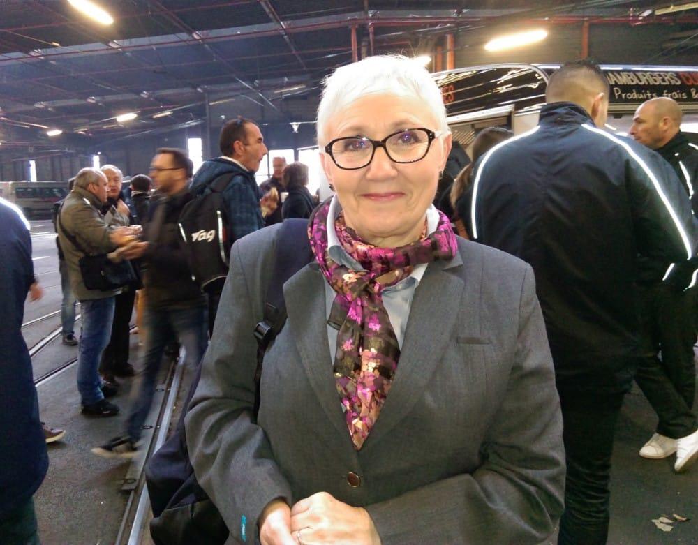 Lydie, conductrice de tram et de bus pour la Semitag depuis 1999 © Florent Mathieu - Place Gre'net