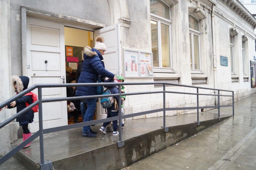 L'école maternelle et élémentaire Jean-Jaurès à Grenoble. © Léa Raymond - Place Gre'net
