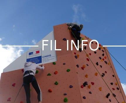 Le Comité départemental olympique et sportif de l'Isère vient d'inaugurer à Eybens la plateforme du dispositif Prescri'Bouge et un mur d'escalade mobile.