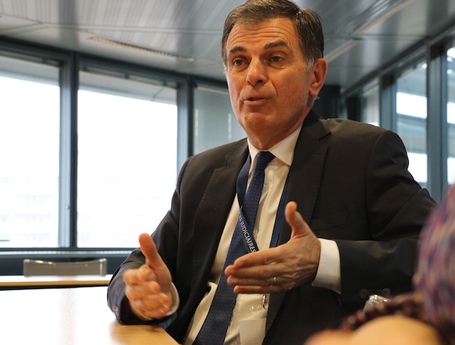 Jacques Dallest, procureur général à la cour d'appel de Grenoble - janvier 2018
