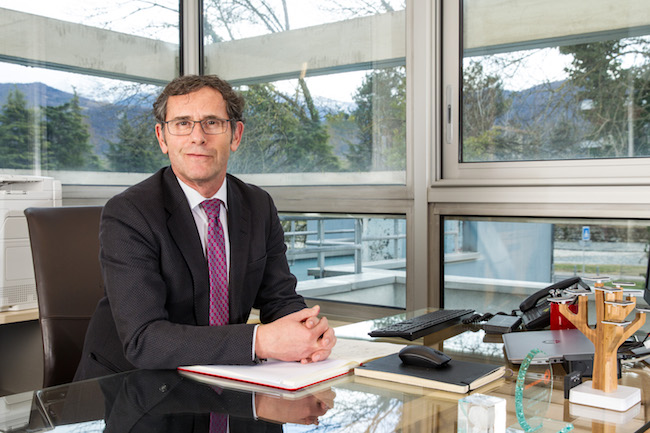Patrick Lévy, président de l'UGA. © Comue Grenoble Alpes
