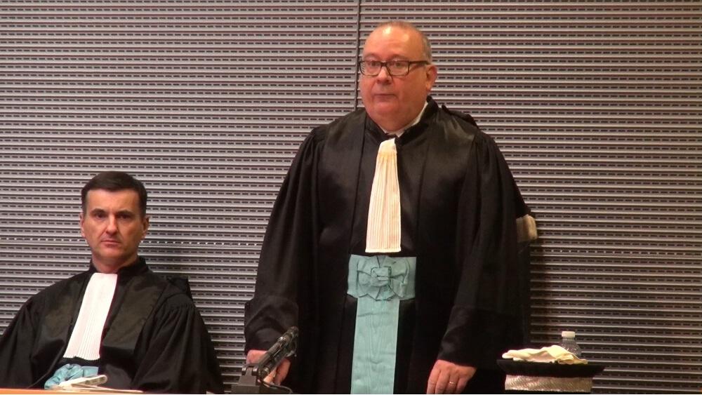 Jean-Yves Coquillat, procureur de la République de Grenoble. © Joël Kermabon - Place Gre'net