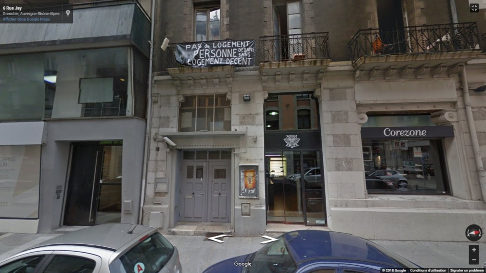 Squat de la rue Jay, Grenoble © Manuel Palvard - Place Gre'net