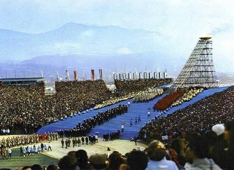 À l'occasion du cinquantième anniversaire des Jeux olympiques de 1968, la Ville de Grenoble organise une commémoration d'envergure.