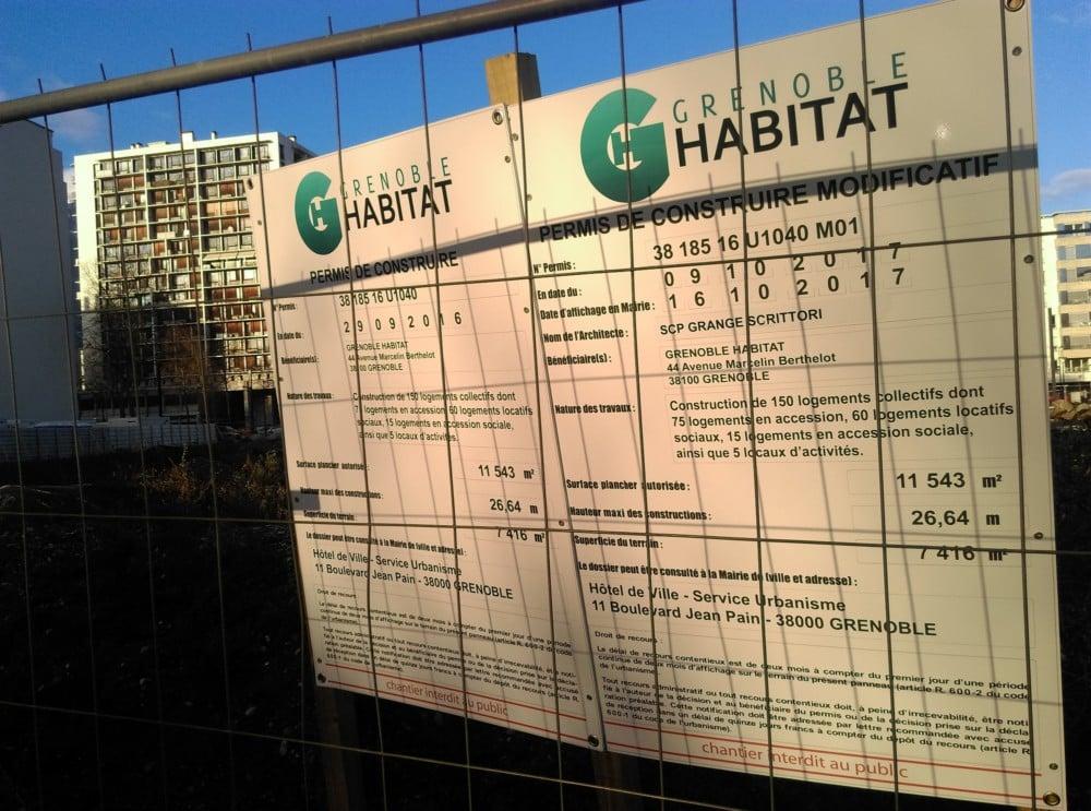 Quel nom pour la future Sem issue de la fusion Actis - Grenoble Habitat ? © Florent Mathieu - Place Gre'net