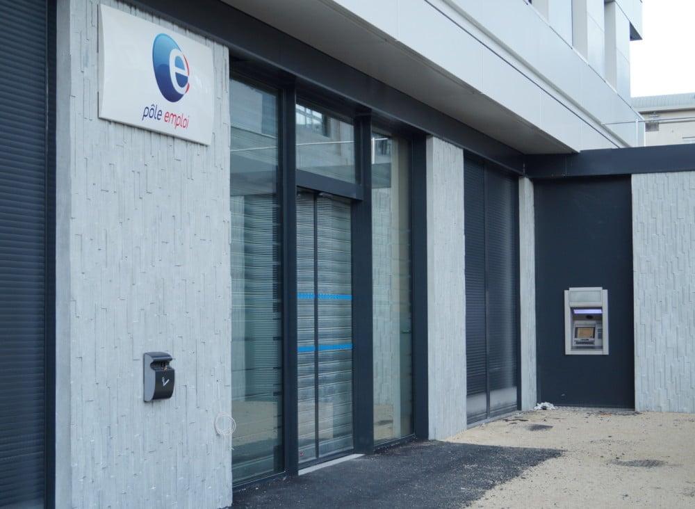 L'agence Pole Emploi La Bruyère de Grenoble © Léa Raymond - Place Gre'net