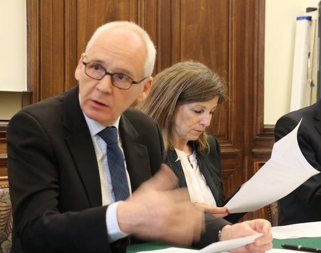 Denis Besle, président du tribunal administratif de Grenoble