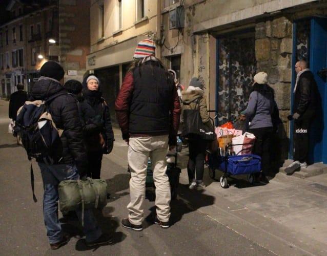 Le collectif grenoblois Help SDF effectue également des maraudes pouv venir en aide aux personnes en grande précarité © Anaïs Mariotti - Place Gre'net
