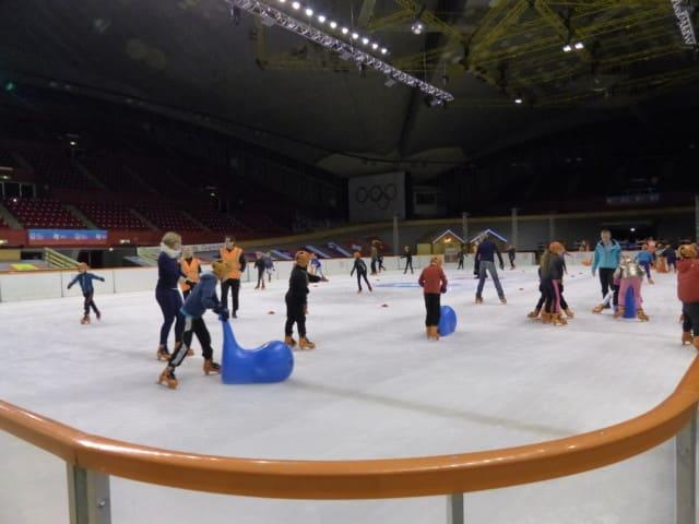 La patinoire sera ouverte au public à partir du 10 au 24 février. ©Juliette Oriot