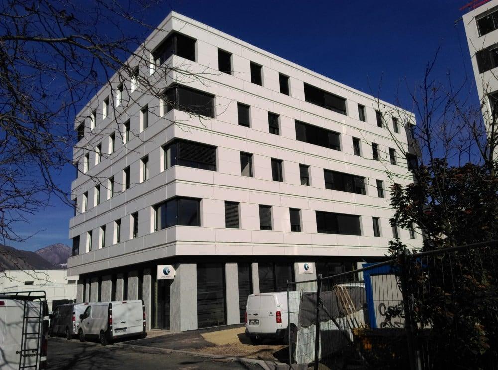 Nouvelle agence Pôle Emploi La Bruyère à Grenoble © Florent Mathieu - Place Gre'net
