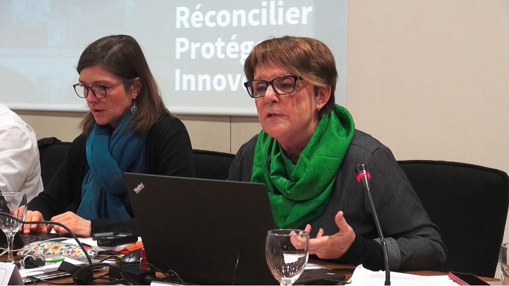 Maryvonne Boileau, ancienne présidente de Grenoble Habitat © Joël Kermabon - Place Gre'net