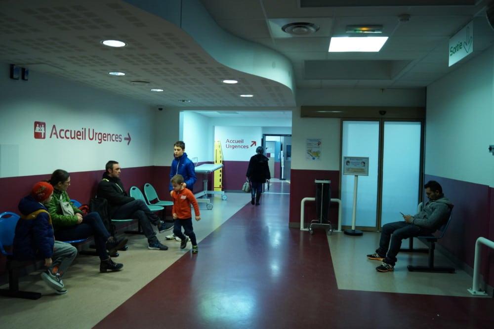 Les Urgences du CHU de Grenoble. © Léa Raymond