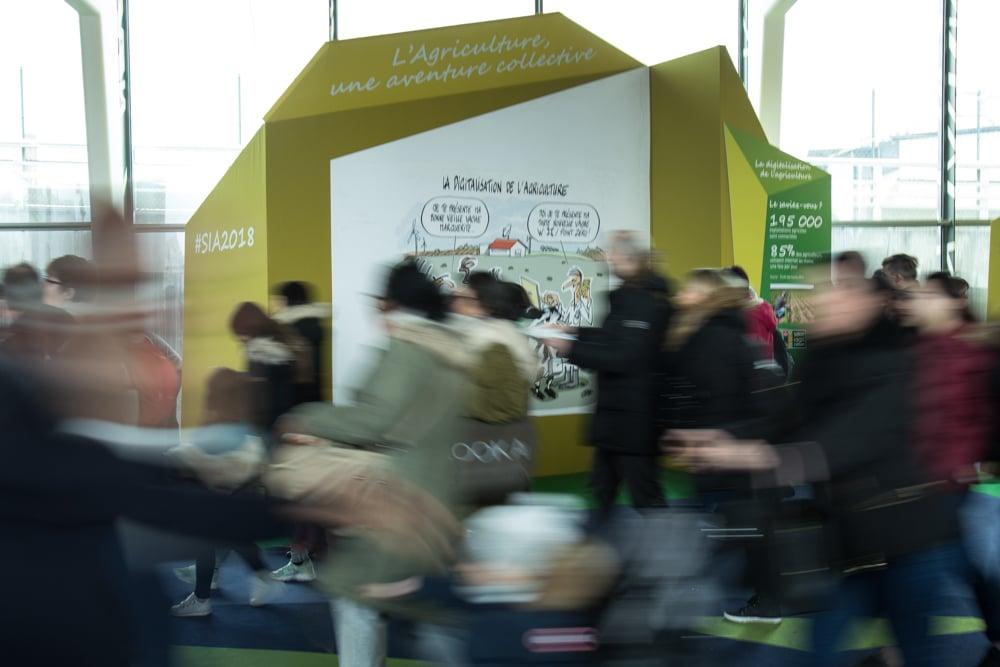 Au salon international de l'agriculture 2018. Paris, Parc des Expositions de la Porte de Versailles. © Yuliya Ruzhechka - Place Gre'net